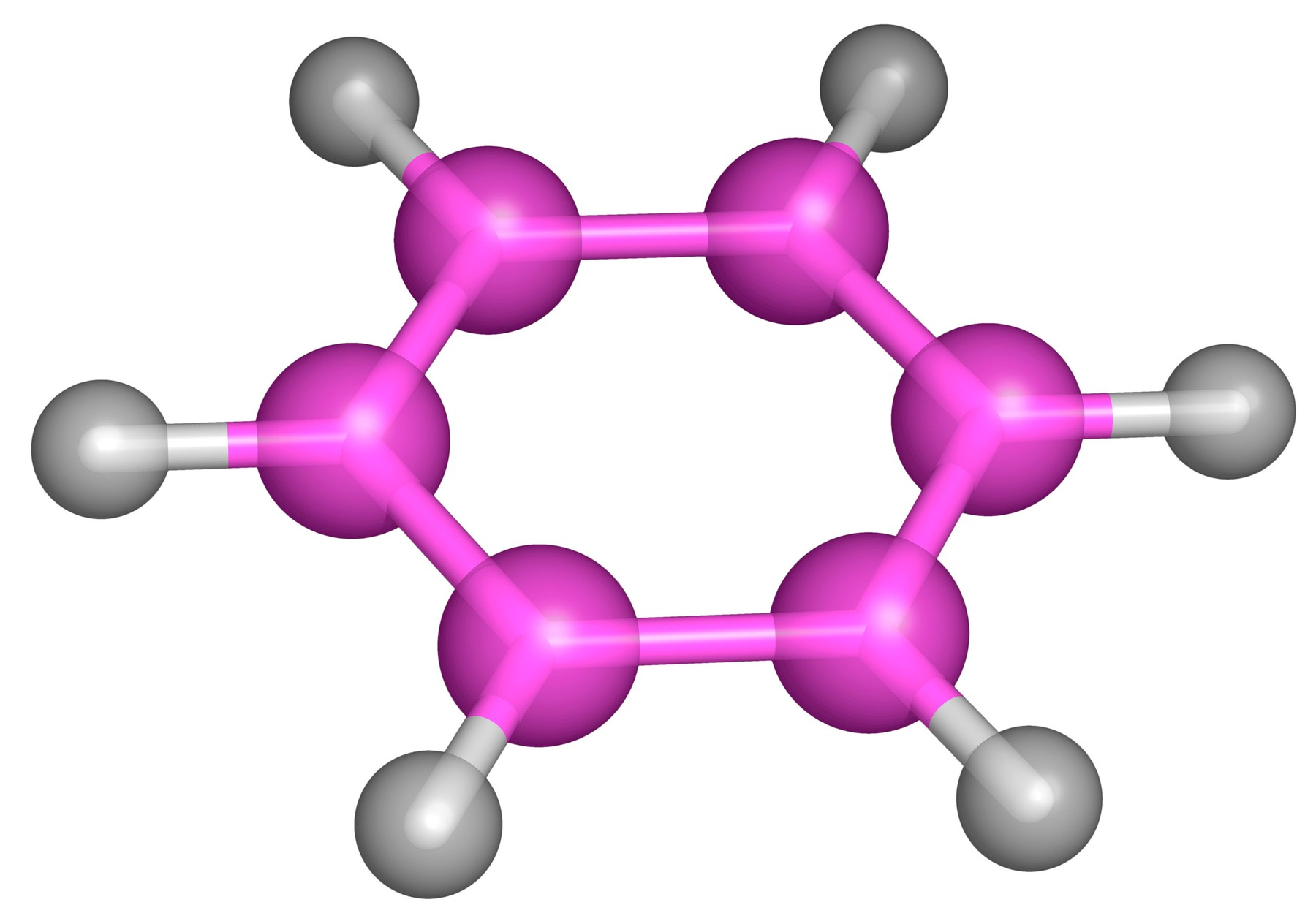 "Benzene is an organic chemical compound and an aromatic hydrocarbon. It is composed of 6 carbon atoms in a ring, with 1 hydrogen atom attached to each carbon atom, with the molecular formula C6H6. Benzene is a natural constituent of crude oil, and is one of the most basic petrochemicals. In the 19th and early-20th centuries, benzene was used as an after-shave lotion because of its pleasant smell. As its toxicity became obvious, benzene was supplanted by other solvents. Benzene causes cancer and other illnesses. Benzene is a ""notorious cause"" of bone marrow failure. ""Vast quantities of epidemiologic, clinical, and laboratory data"" link benzene to aplastic anemia, acute leukemia, and bone marrow abnormalities., Image: 106540954, License: Rights-managed, Restrictions: , Model Release: no, Credit line: Profimedia, Alamy"